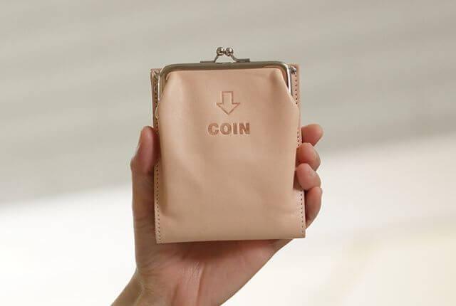 JOLI-外がま口二つ折財布
