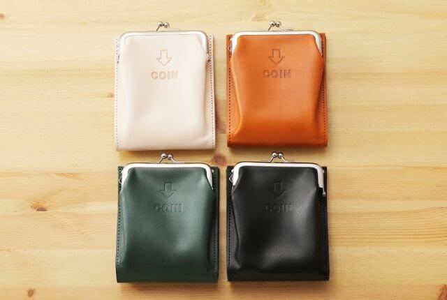 JOLI-外がま口二つ折財布-4色