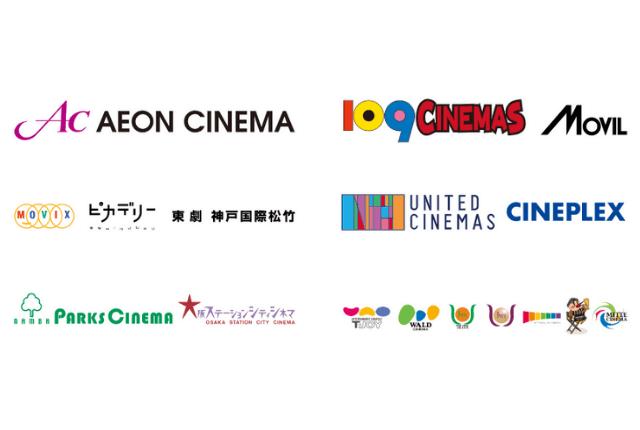 U-NEXTポイント-チケット交換対象の映画館